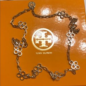 """Tory Burch Long Gold Necklace 19"""""""